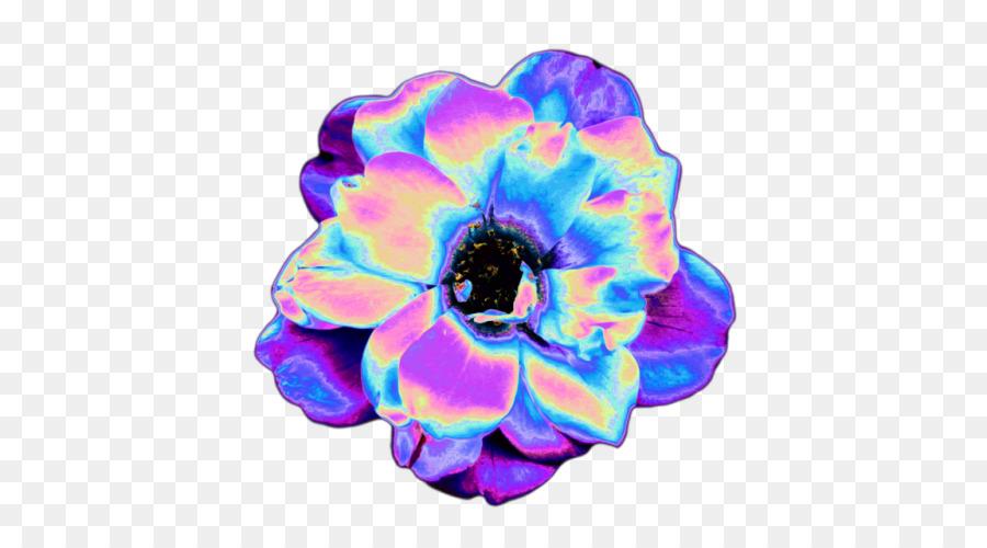 Vaporwave backdrop. Flowers clipart background png