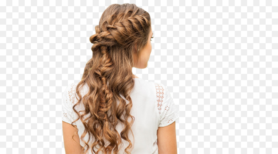 French Braid Hairstyle Updo Hair Png Download 500500 Free