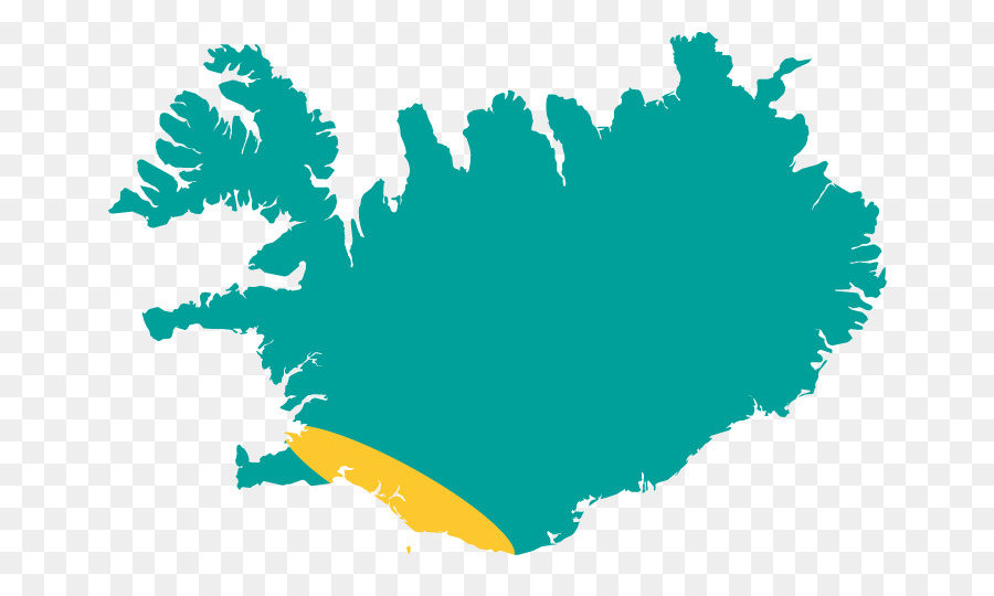 Iceland World map Vector Map - Iceland map png download - 720*540 ...