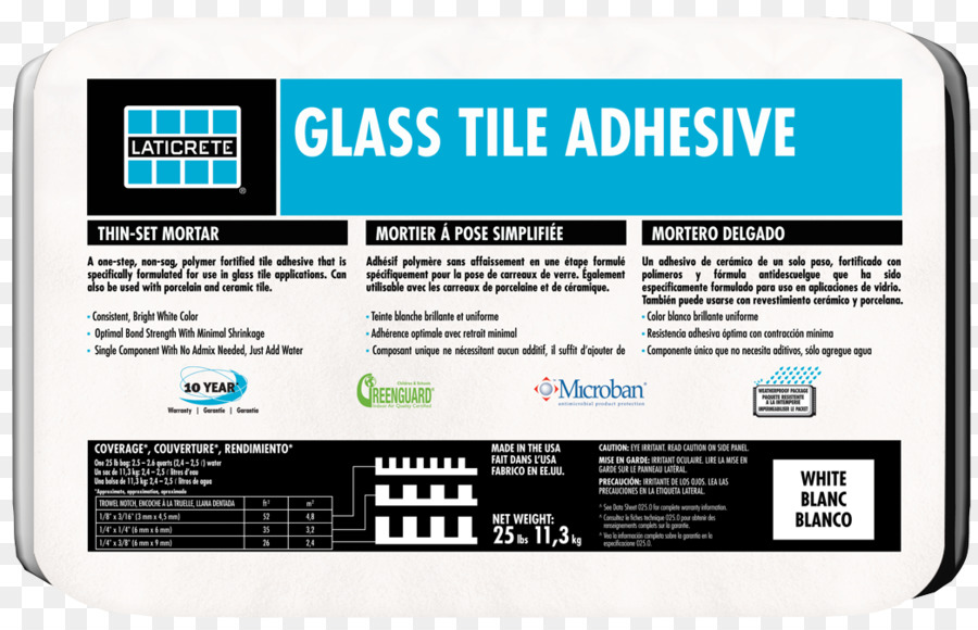 Thinset Mortar Grout Tile Adhesive Glass Png Download 1046673