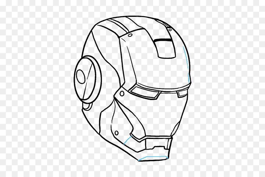 Iron Man YouTube Dibujo De Carácter De La Máscara - Dibujo del ...