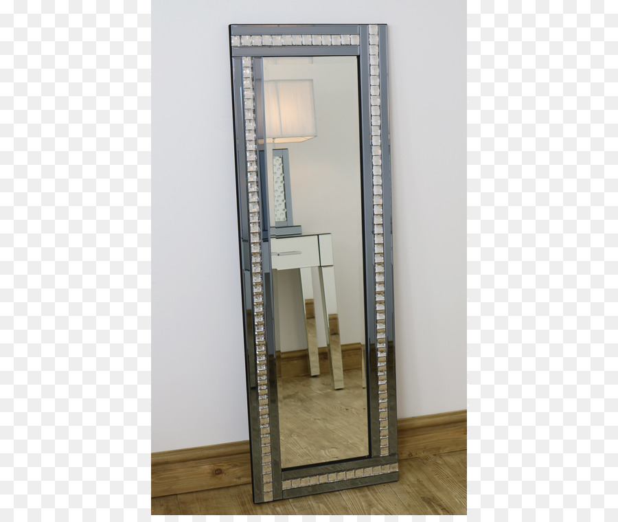 Mirror Floor Silver Glass Framing - mirror png download - 750*750 ...