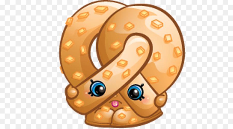 Shopkins Pretzel Birthday Food Clip Art   Sugar Lump