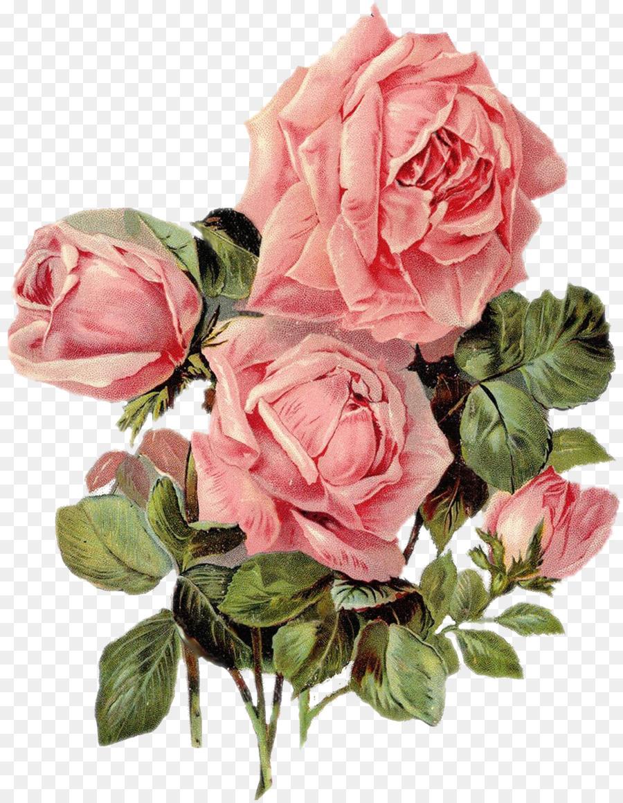 Paper Rose Printing Flower Art Rose Png Download 22332868