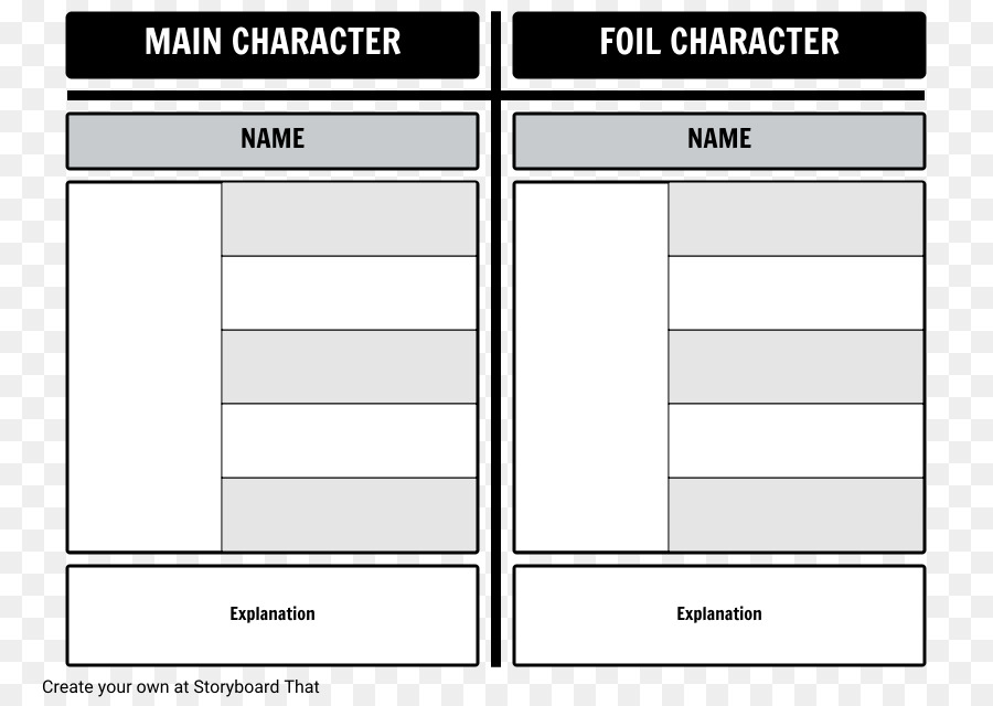 Foil Fantastic Mr Fox Communication Literature Storyboard - Character design document