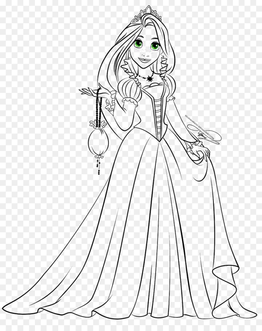 Rapunzel Belle Dibujo De Princesa De Disney - La Princesa De Disney ...