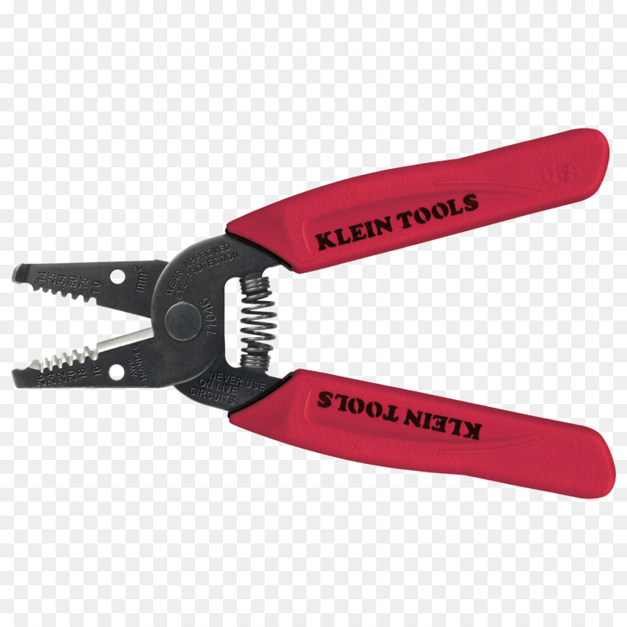Wire stripper Klein Tools Cutting tool American wire gauge Hand tool ...