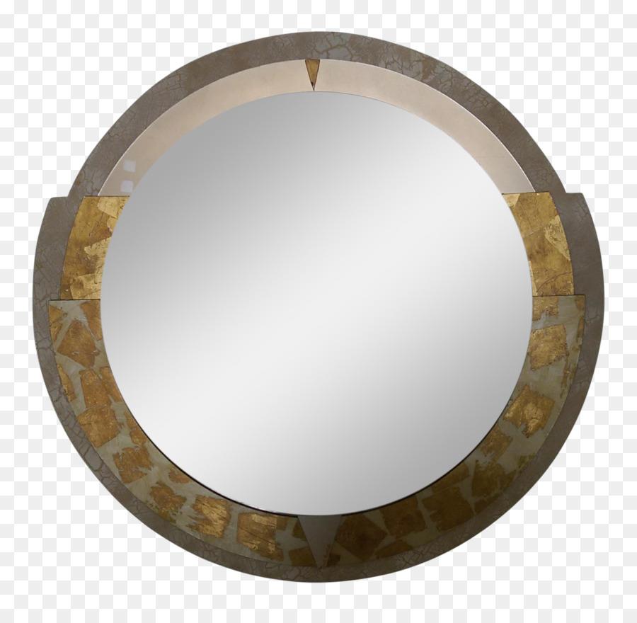 Bronze Mirror Antique Image Glass