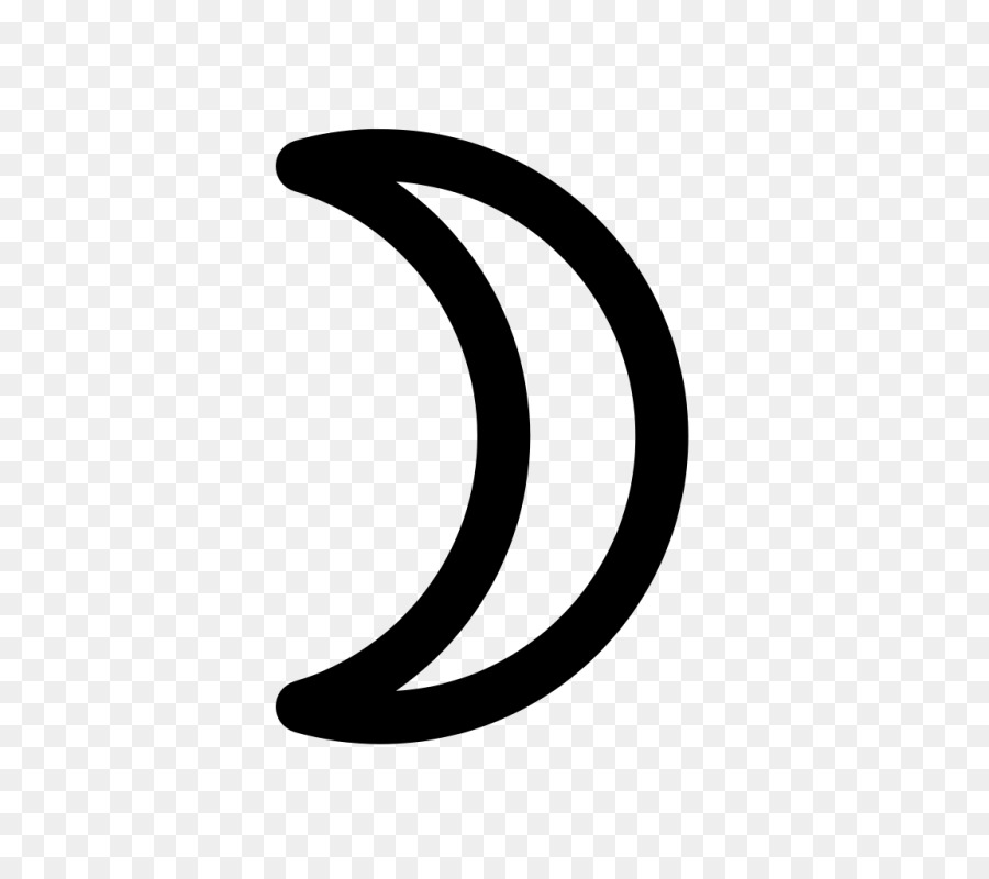 Crescent Alchemical Symbol Alchemy Metal Symbol Png Download 800