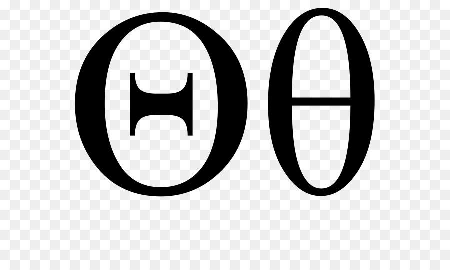 Theta Greek Alphabet Letter Iota Symbol Symbol Png Download 800