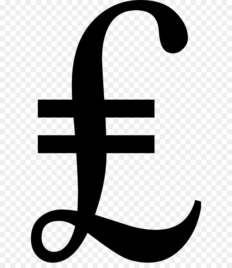 Pound Sign Pound Sterling Turkish Lira Sign Currency Symbol Symbol
