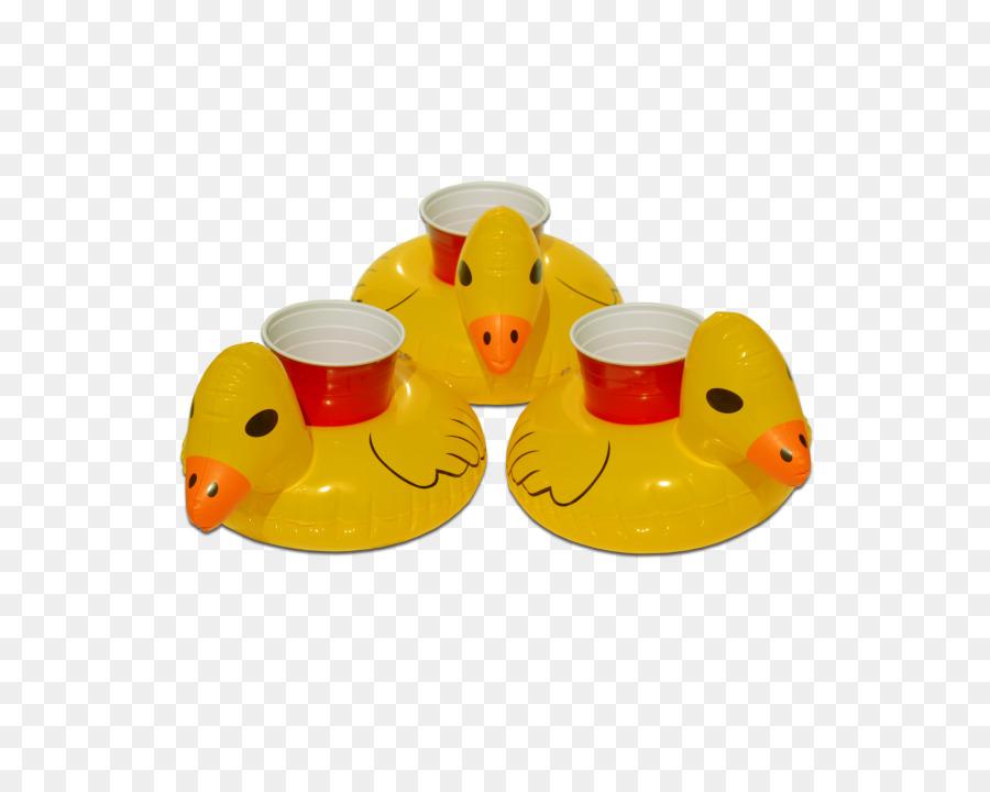 Duck Drink Cup Holder Inflatable Beer   Duck