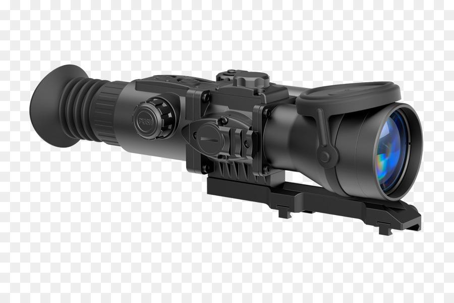 Monokulare laser entfernungsmesser pulsar night vision device
