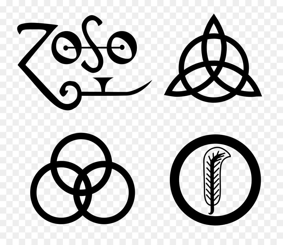 Led Zeppelin Iv Symbol Led Zeppelin Iii Logo Led Zepelin Png