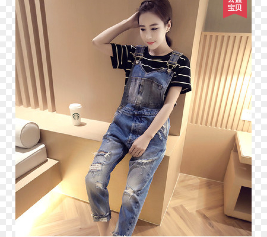 5c78a205e2a Overall Pants Braces Jeans Skirt - jeans png download - 4500 4000 - Free  Transparent png Download.