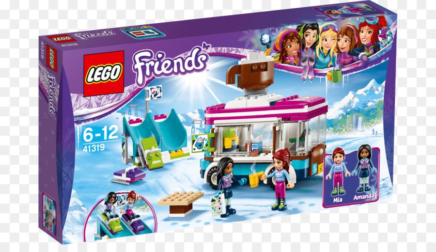 Lego 41319 Friends Snow Resort Hot Chocolate Van Lego Friends Toy