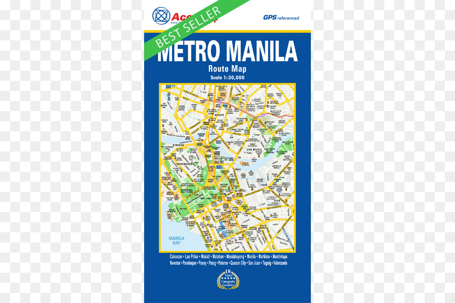 Manila Accu-map Road map Google Maps - map png download - 500*600 ...