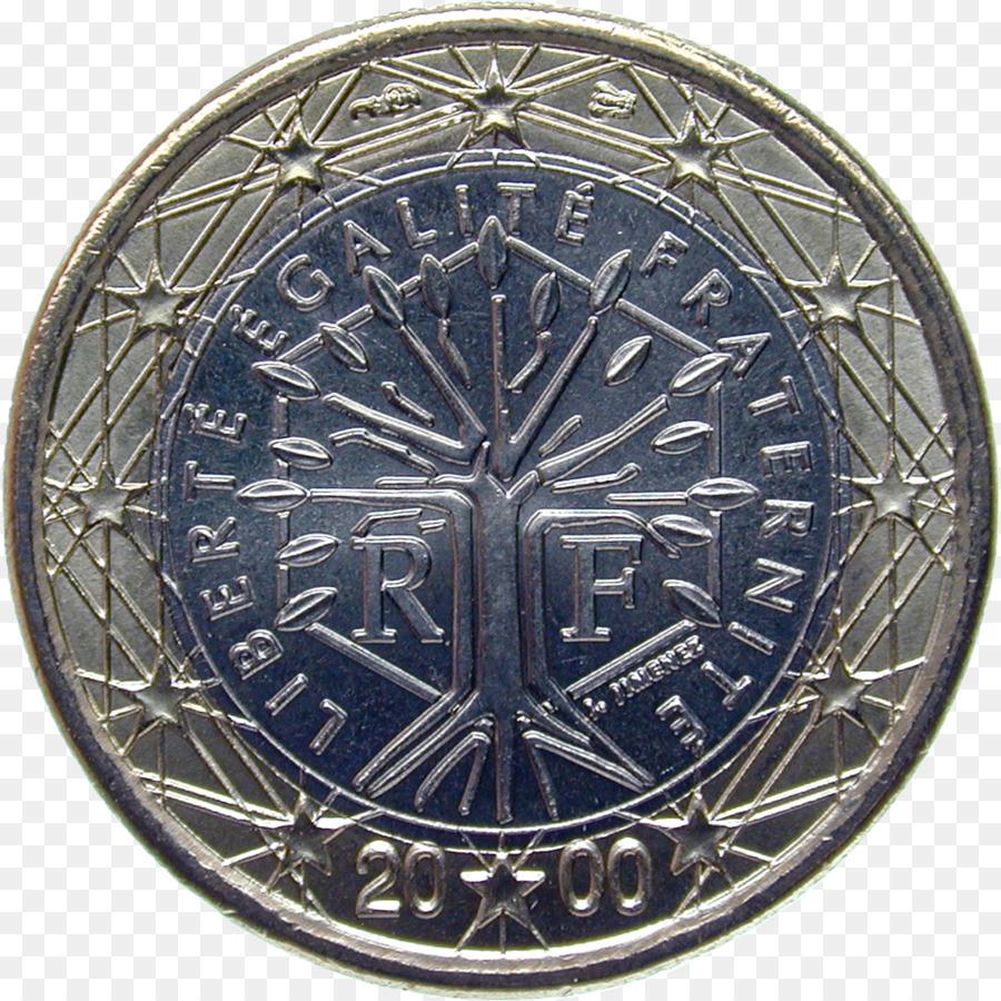 Nivre Language Medal Cobalt Blue Map 2 Cent Euro Coin Png