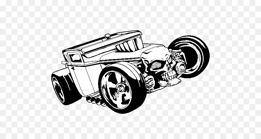 Coche de Dibujo de Hot Wheels Hot rod - hot weels png dibujo ...