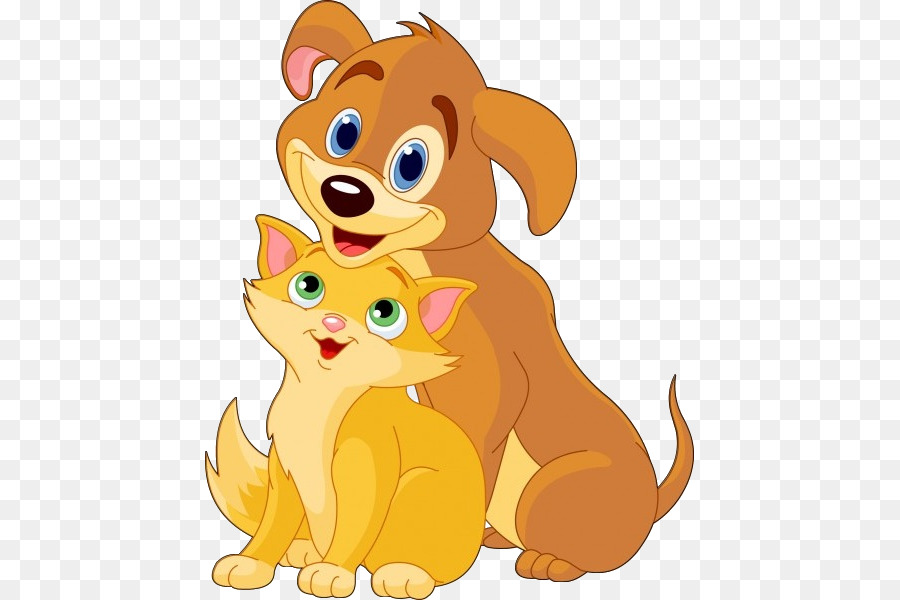 Picture images of dogs and cats cartoon