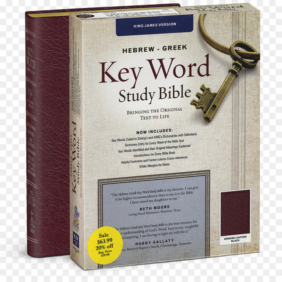 Hebrewgreek Key Word Study Bible Text png download - 1000*1000