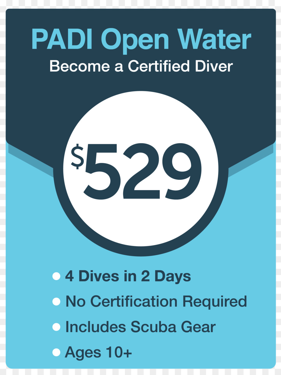 Professional Association Of Diving Instructors Open Water Diver
