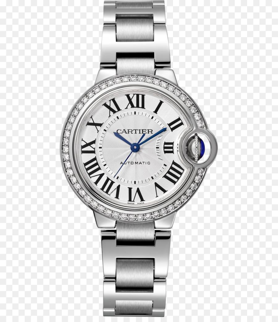 40fd567778b Cartier Ballon Bleu relógio Automático Jóias - assistir ...