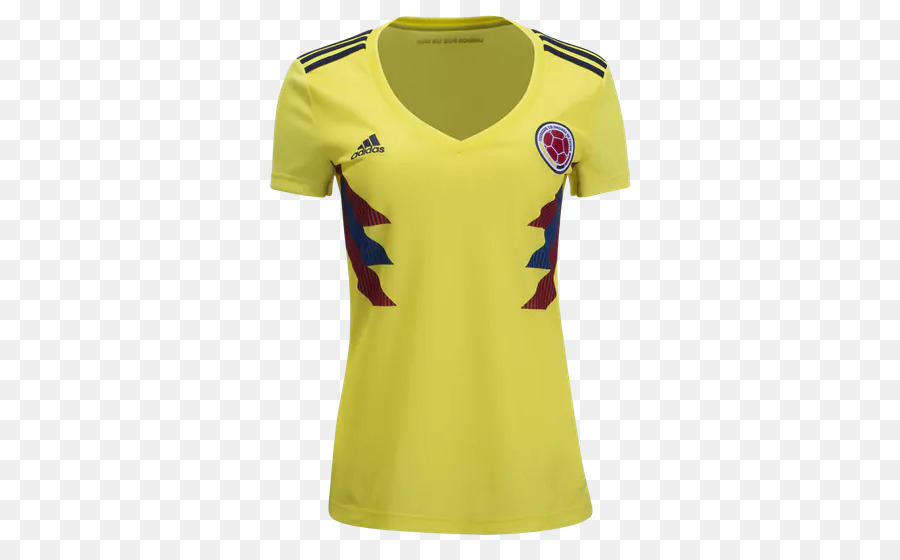 d7459cc26 Colombia National Football Team, 2018 World Cup, Tshirt, Clothing, Yellow  PNG