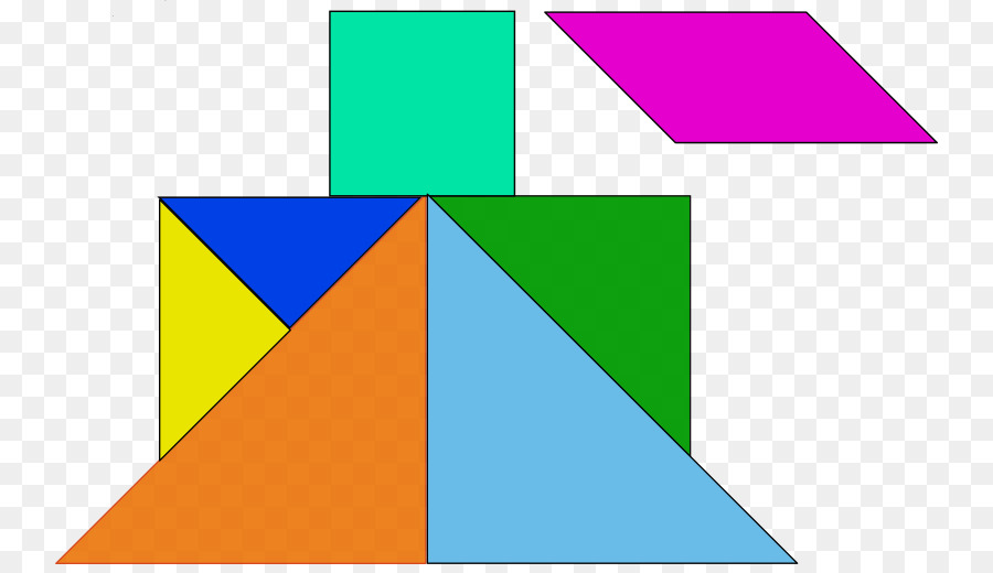 Jigsaw Puzzles Asteroids Tangram Game - shape png download