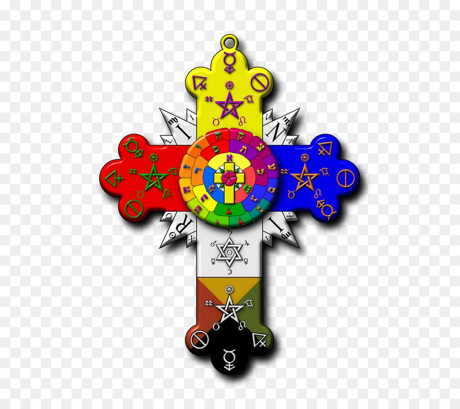 Hermetic Order Of The Golden Dawn Rose Cross Lamen Rosicrucianism