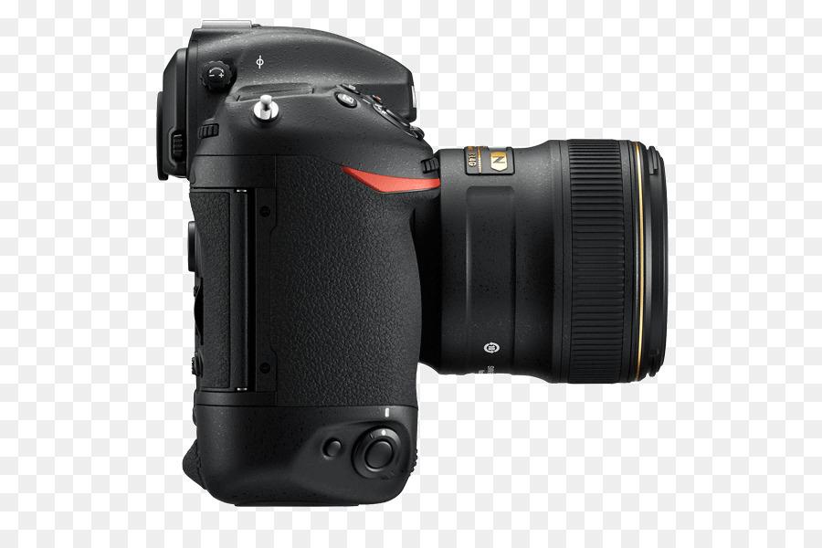 Nikon D4S XQD card Full-frame digital SLR Camera - Camera png ...