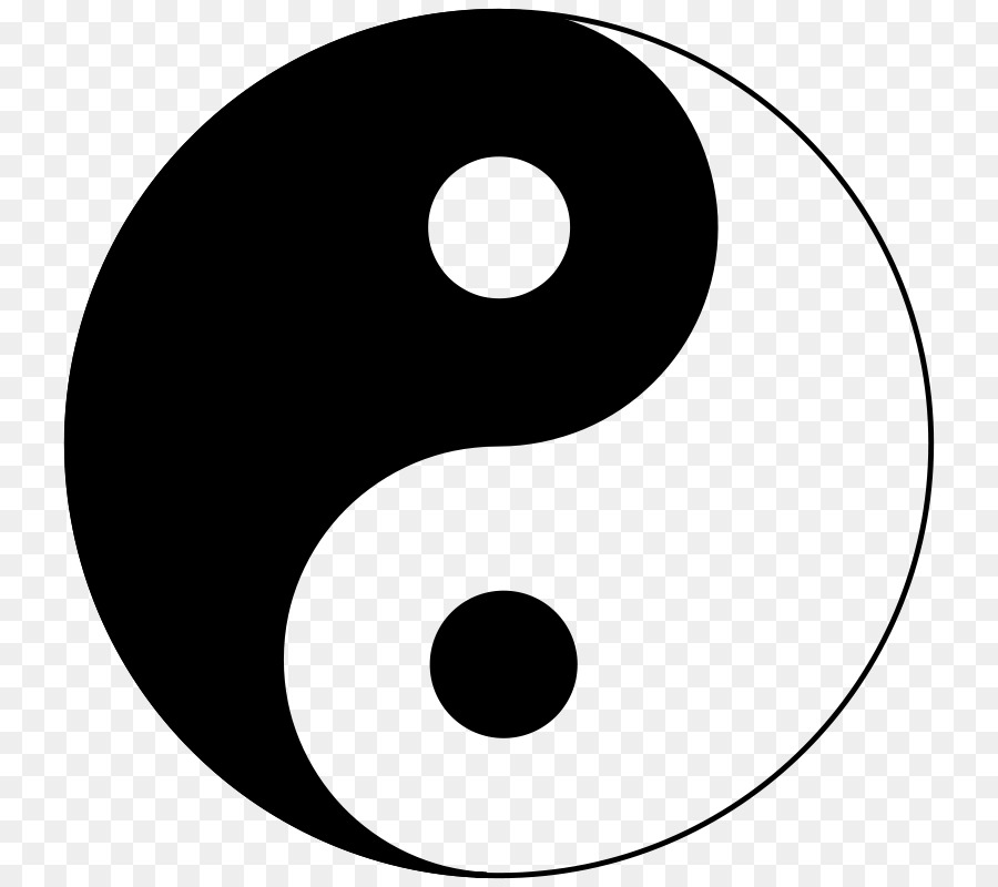 Yin And Yang Taijitu Symbol Taoism Concept Symbol Png Download