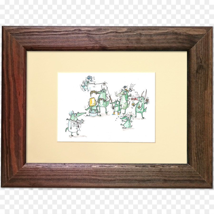 Work of art Drawing Fine art Picture Frames - dragon frame png ...