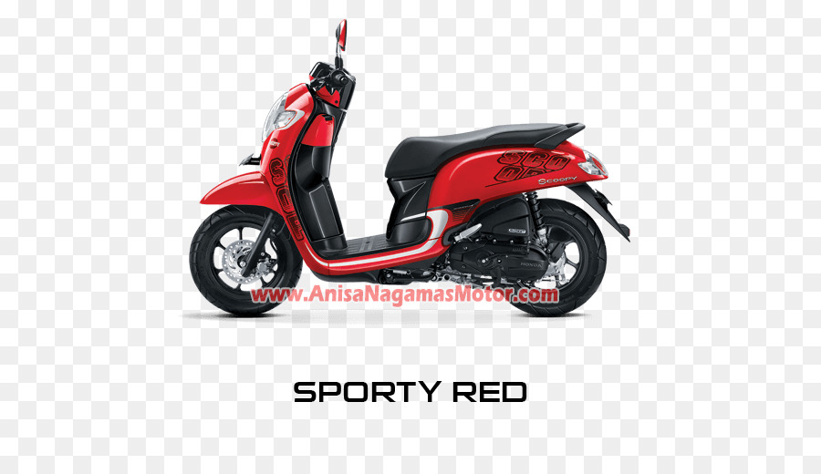 Honda Scoopy PT Astra Motor Motorcycle Red