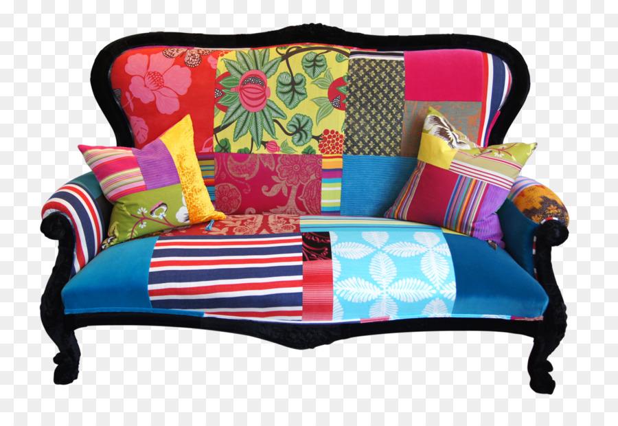 Patchwork Couch Möbel ökodesign Stuhl Mahagoni Stuhl Png
