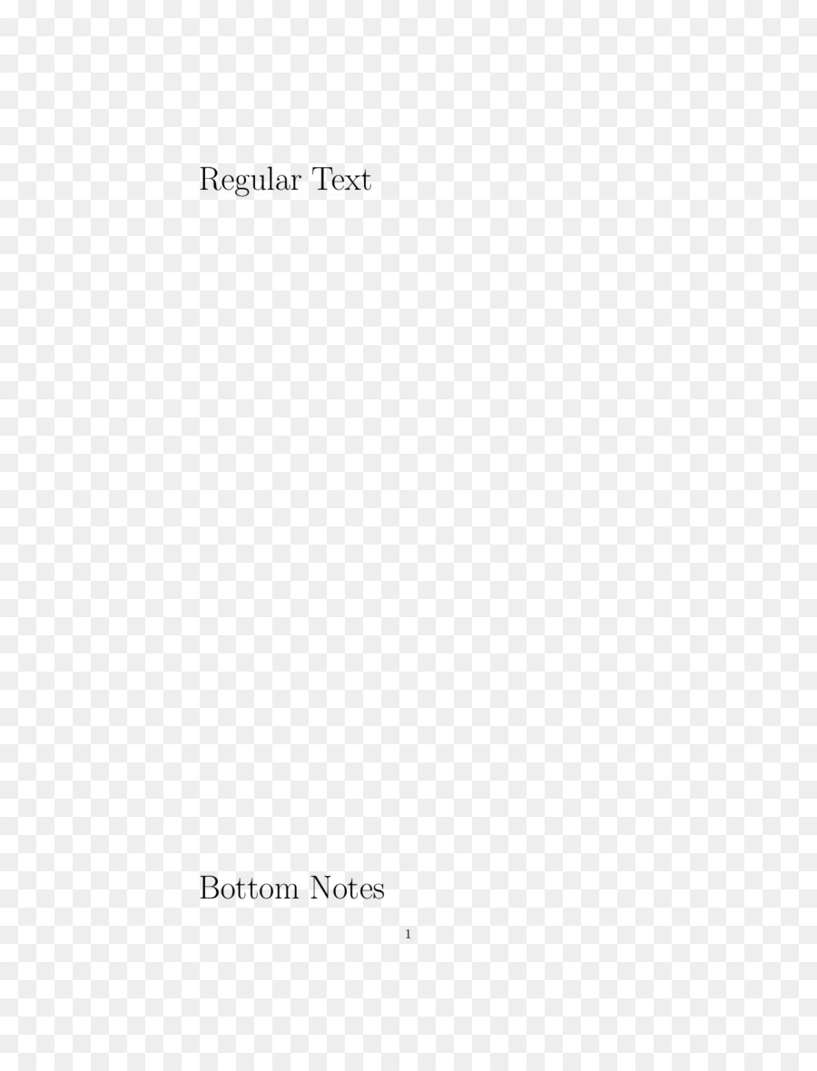 Document Note Margin Latex Paragraph Footnote Png Download 1275