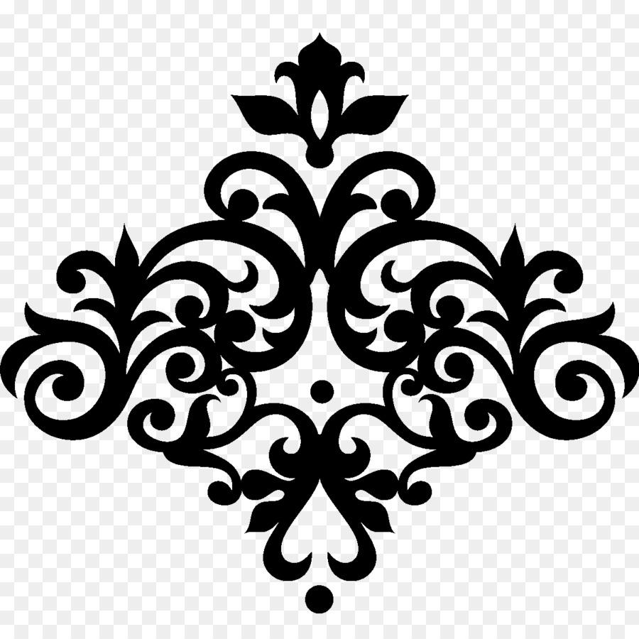baroque ornament estilo victoriano design