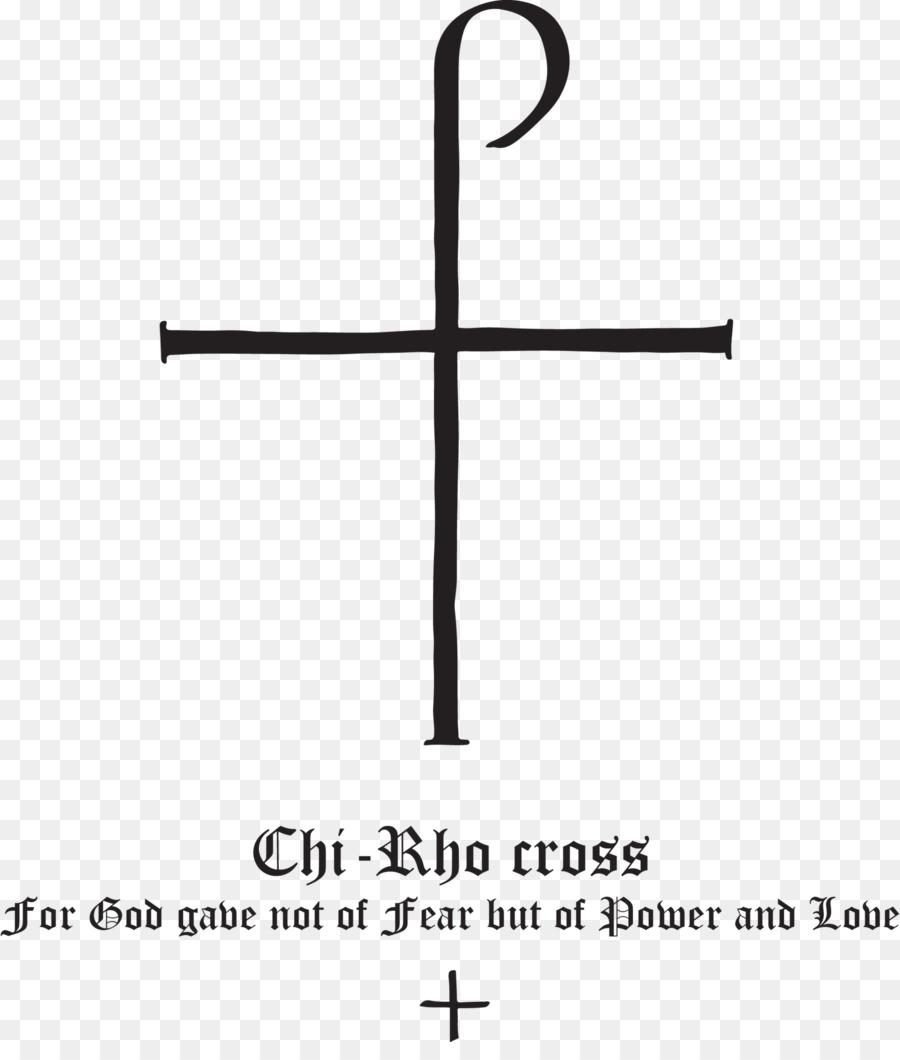 Cross Christian Symbolism Chi Rho Staurogram Symbol Png Download