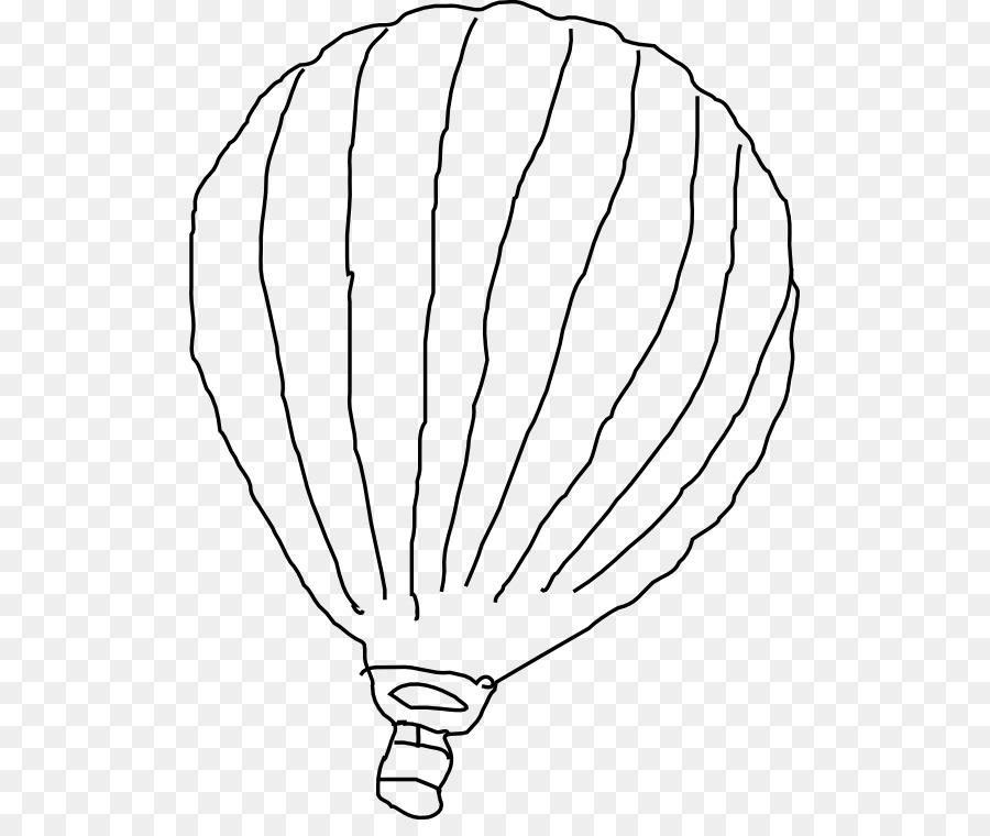 Arte de línea de Dibujo de libro para Colorear de globos de aire ...