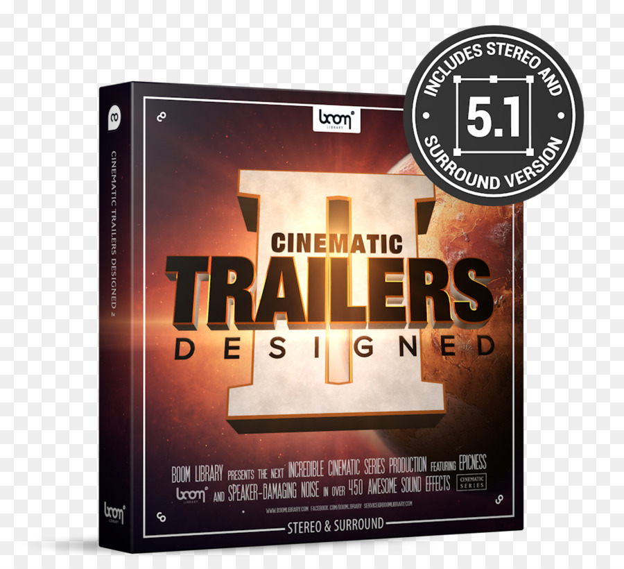 Sample library Sound Effect Trailer - sound effects png download