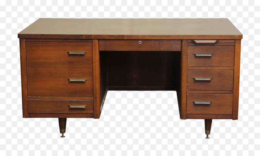 Table des meubles de bureau modernes du milieu du siècle tiroir