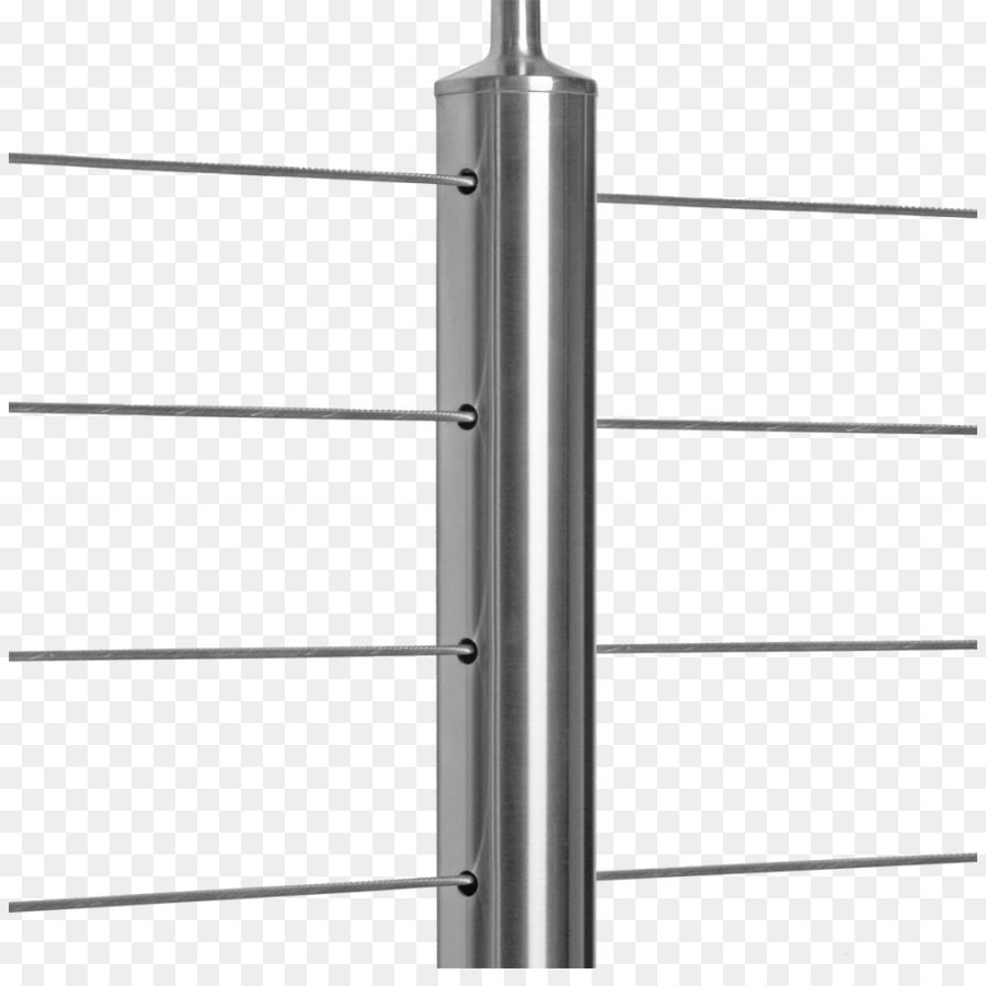 Cable railings Guard rail Deck Wire rope Stainless steel - iron png ...