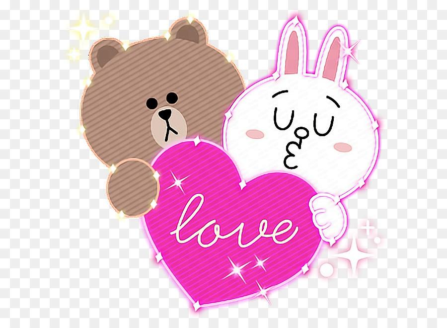 paper line friends sticker hello kitty neon line png download