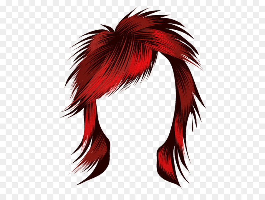Hairstyle Red Hair Clip Art Hair Png Download 540665 Free