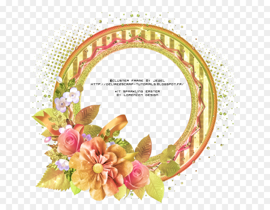 Floral design Picture Frames Cut flowers PSP - others Formatos De ...