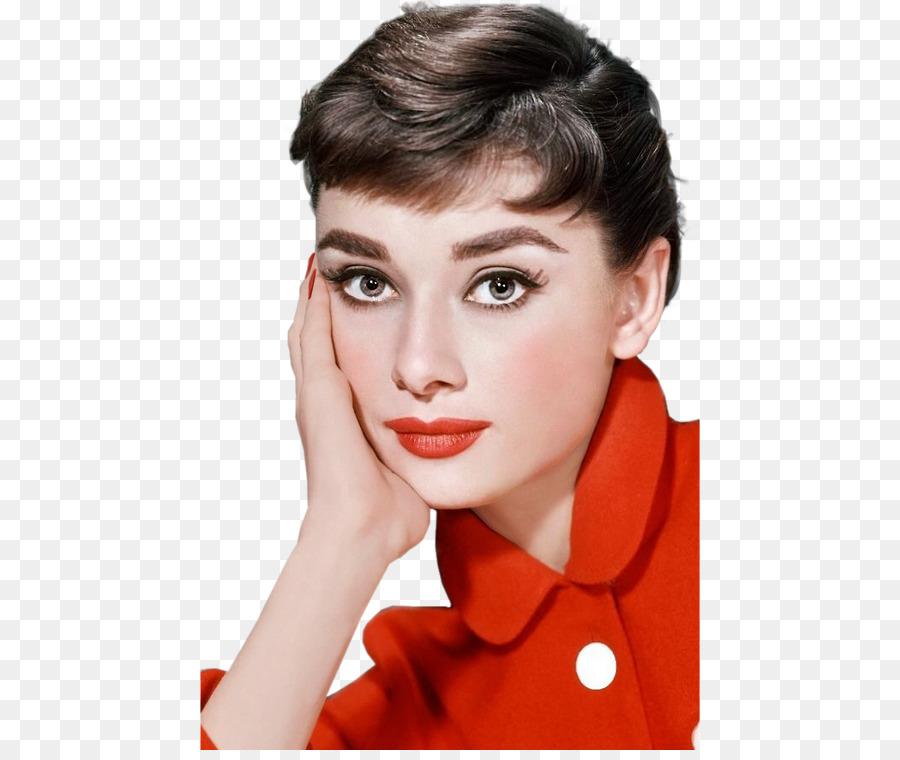 Audrey Hepburn Actor Eye Liner Cosmetics Color Actor Png Download