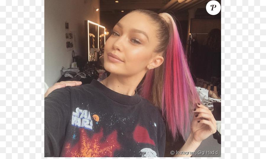 Gigi Hadid Human Hair Color Hairstyle Hair Coloring Model Model