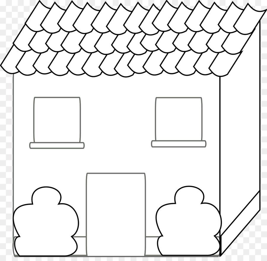 Carta Casa Disegno Ausmalbild Libro Da Colorare Casa Scaricare Png
