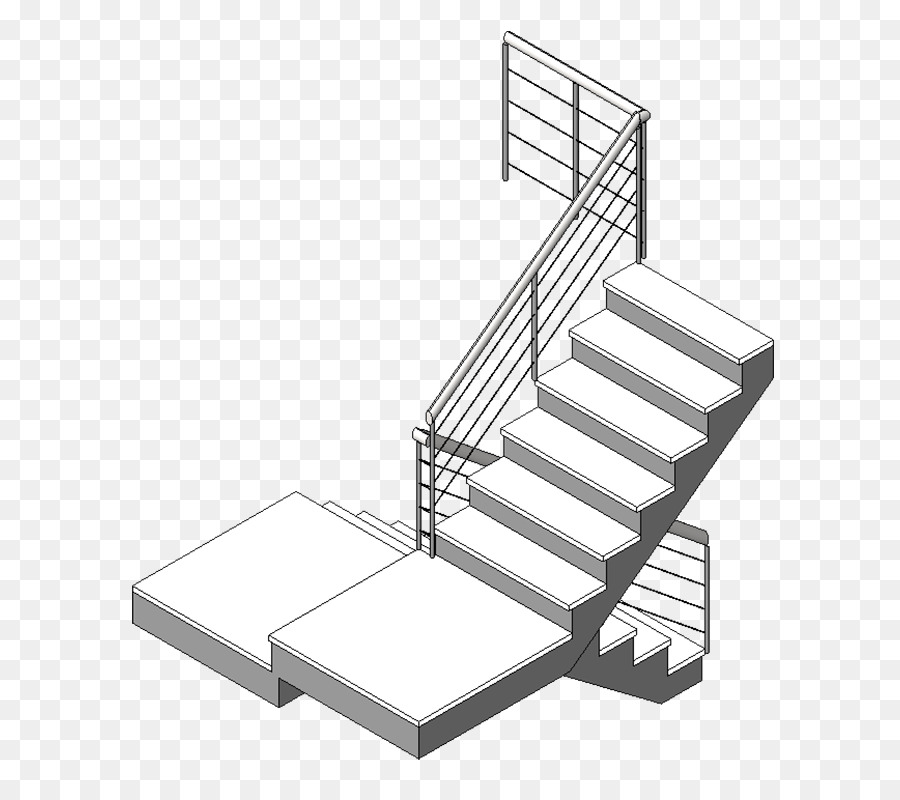 Handrail Stairs Autodesk Revit Bed frame - stairs Formatos De ...