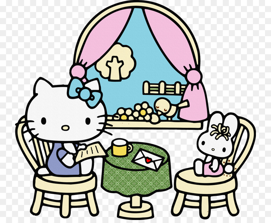 Coloring Book Hello Kitty Child Child Png Download 800 730